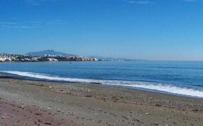 Resultado de imagen de Arroyo Vaquero Malaga playa